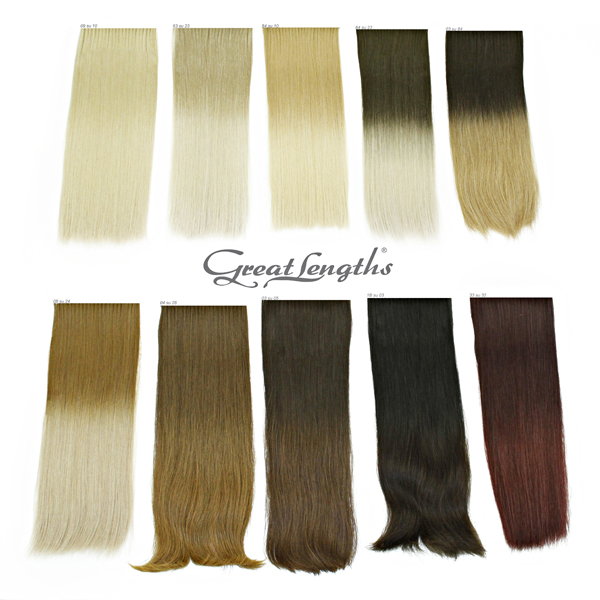 ciocche capelli Great Lengths extension